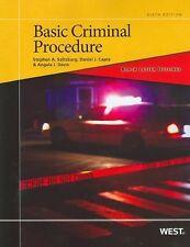 Black Letter Outline on Basic Criminal Procedure