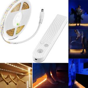 PIR-Motion-Sensor-LED-Strip-Night-Light-2835SMD-USB-Bed-Closet-Flexible-Lamp-5V