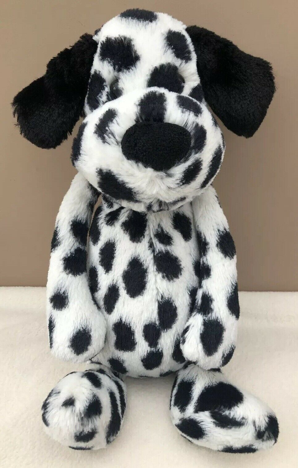 Jellycat Bashful Dalmatian Puppy Dog Baby Soft Soft Soft Toy Comforter Dalmation Spotty da6