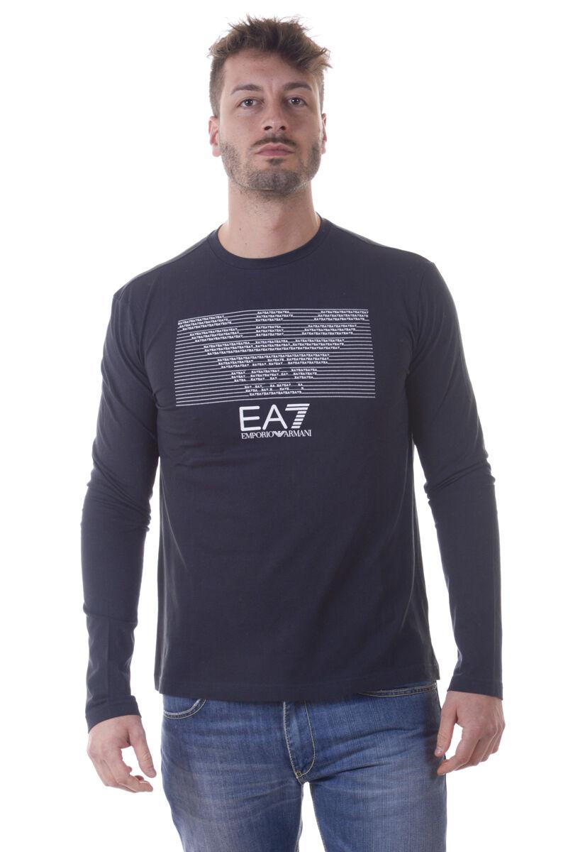 Emporio Armani EA7 T-Shirt Sweatshirt Sz. S Man bluees 3YPTM3PJ30Z-1578 PUT OFFER