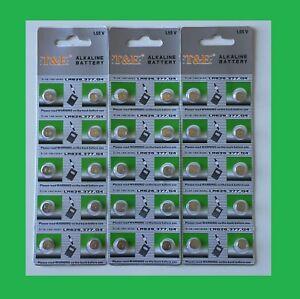 Lot-de-10-Piles-Bouton-LR626-377-G4-1-55V-pile-alkaline-pour-montre-telecommande