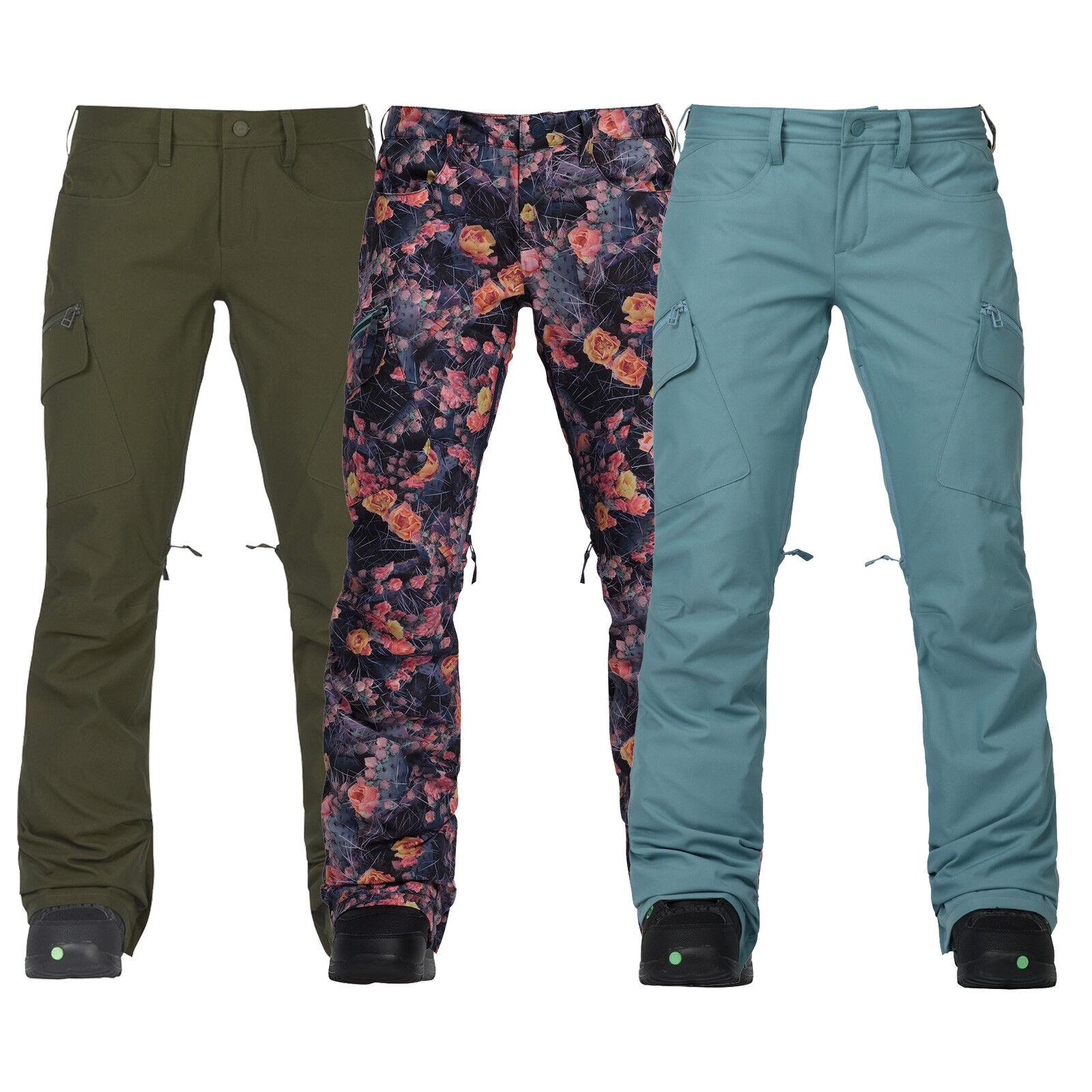 Burton gloria PANT DONNASnowboard Pantaloni Yorkton Snowpant funzione Pantaloni Pantaloni Nuovo