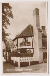 Hertfordshire-postcard-Ye-Old-Fighting-Cocks-St-Albans-A73