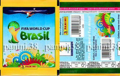 "tüte PANINI Pochette VISA EDITION /""WC BRASIL 2014/"" bustina RARE ! packet"