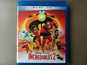 INCREDIBLES-2-BLURAY-amp-DVD-BONUS-DISC-3-DISC-SET-WALT-DISNEY