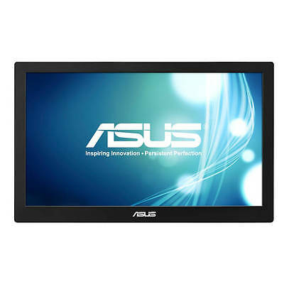 "Free Ship Asus MB168B 16:9 15.6"" WLED TN Slimmest  Monitor USB-powered w/ Sleeve"