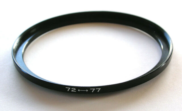 STEP UP ADAPTER 72MM - 77MM STEPPING RING 72 TO 77MM 72-77 STEP UP RING