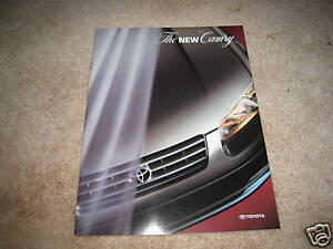 1997 toyota camry ce le xle sales brochure catalog dealer auto image is loading 1997 toyota camry ce le xle sales brochure sciox Choice Image