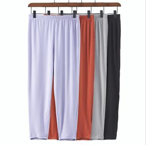 Women 95/%Cotton Plus Size 3X-6X 3//4 Leggings Capris Cropped Stretch Shorts Pants