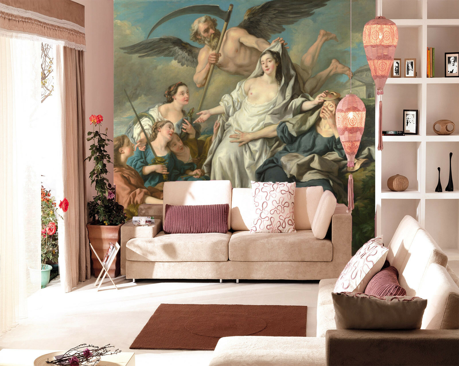 3D Body Art Painting 42 Wall Paper Wall Print Decal Wall Deco Indoor Mural Carly