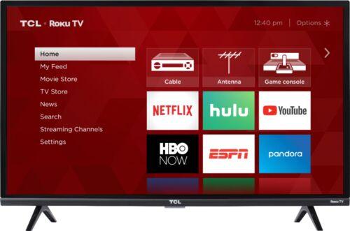 "Smart TCL 32/"" Class LED HDTV Roku TV 1080p 3-Series"