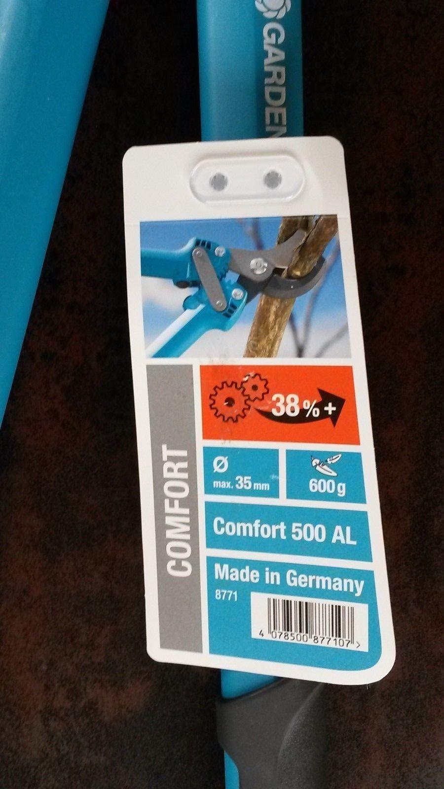 GARDENA 8771 Astschere Comfort 500 AL max. Ø 35 mm, 600 g Baumpflege