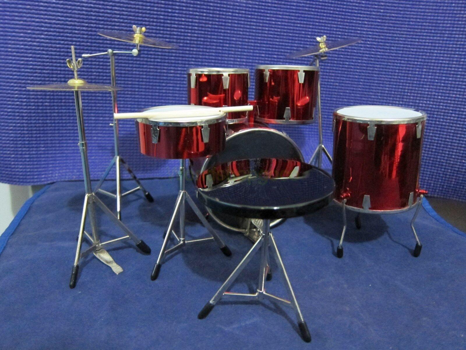 1 6 Scale rouge Drum  Set Musical InstruHommest for 12  Action figure  économiser sur le dédouanement