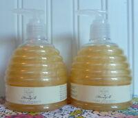 Lot Of 2 Scottish Fine Soaps Honey B Creme Handwash 10.5 Oz Pump Hand Wash