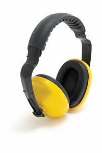 1x-Pair-of-Blackrock-25dB-Ear-Defenders-Noise-Protection-Comfort-Headband-Yellow
