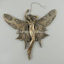 Bronze Fairy Faerie Wall Hanging - Diamond Flight