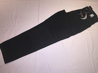 N12 Gut Ausgebildete New Mens Regatta Trj323 Premium Workwear Trousers Black 38/r