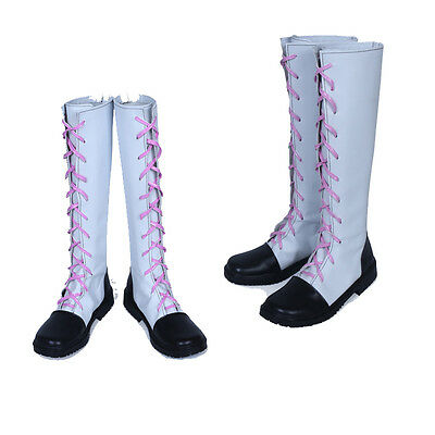 Beautiful RWBY 2 Nora Valkyrie Cosplay Shoes Boots Custom Made Free Shipping