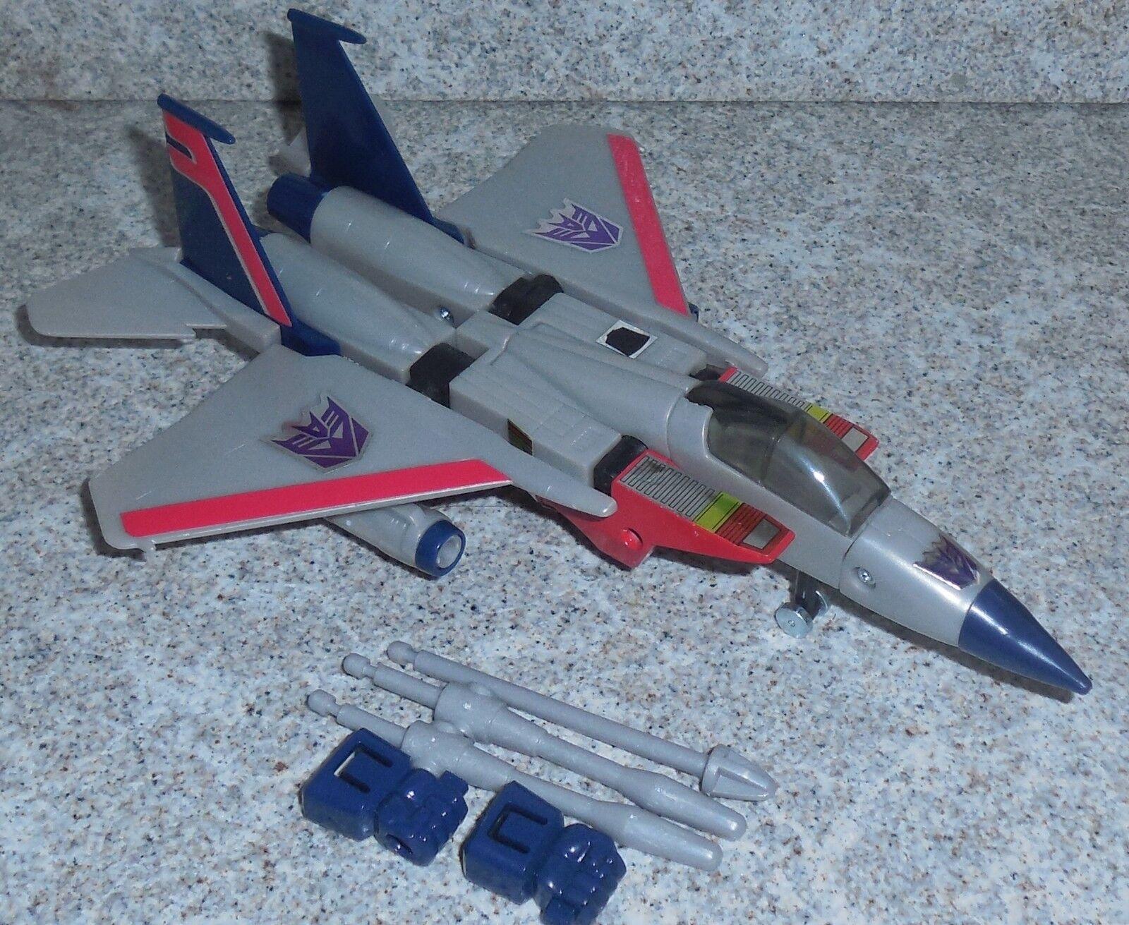 Transformers Commémorative  Starscream G1 Réédition  vente avec grande remise