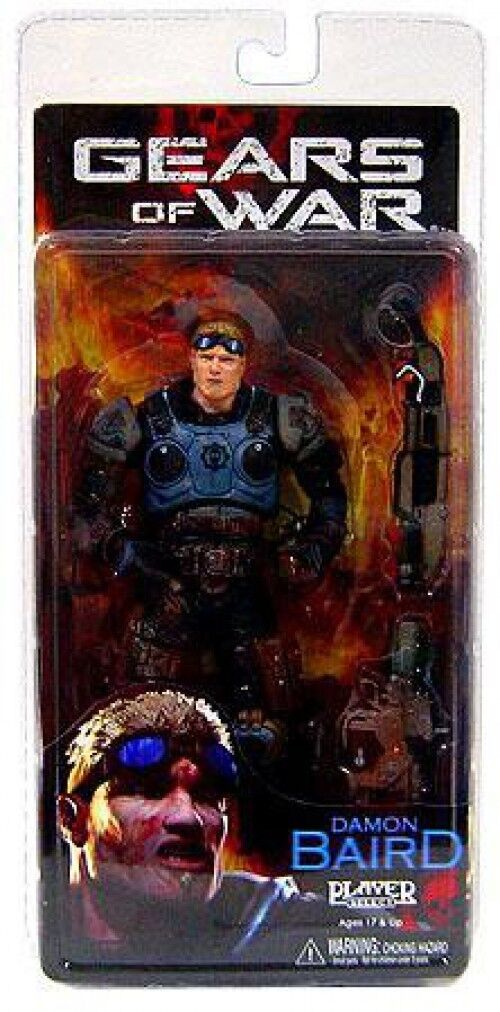 NECA Gears of War Series 2 Damon Baird Action Figure