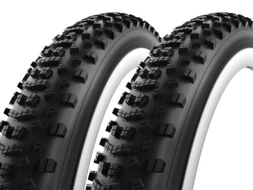 MTB Bike Tire Folding Tubeless Pair of Vittoria Cannoli 27.5 x 3.0 Plus 27.5