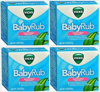 Vicks Baby Rub Soothing Comfort For Babies 1.76 Oz ( 4 Pack )