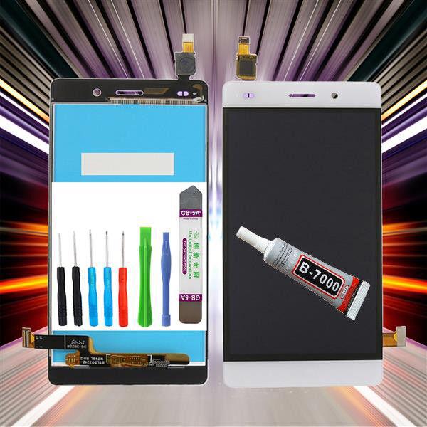 Original Huawei Ascend P8 Lite ALE-L21 Pantalla LCD Táctil Blanco