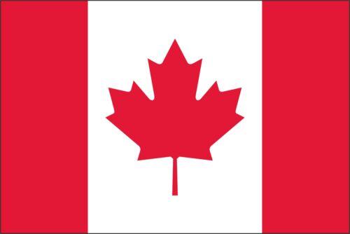 Canada Flag Vinyl Decal Sticker ** 5 Sizes **