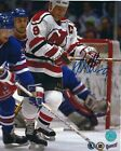 Autographed KIRK MULLER New Jersey Devils 8x10 photo - COA
