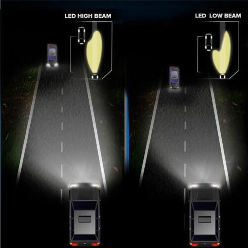 Fog Light Bulbs for GMC Sierra 2500 HD 2016 2015 9012 5202 LED Headlight Kits