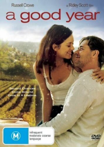 1 of 1 - A Good Year (DVD, 2007)*R4*Russell Crowe*terrific Condition*