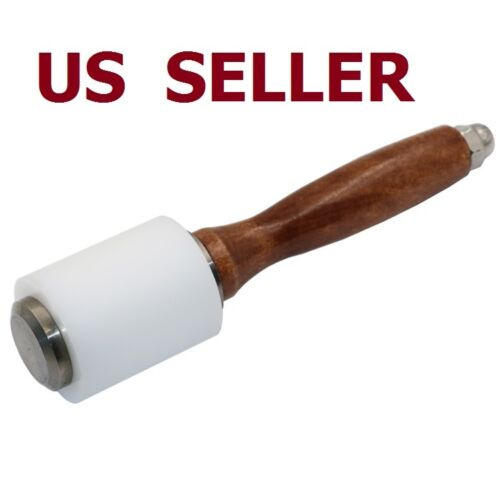 Strengthen PE Wooden Material Leather Cutting Hammer Craft Stamping Tools