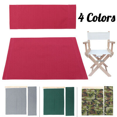 Set Teli Ricambio Sedia Regista.Kit Tarp Canvas Directors Chair With Stool Cover Replacement Cover