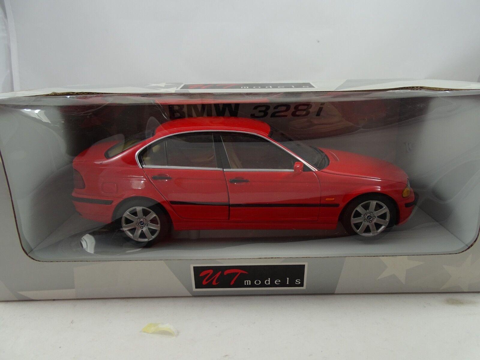 1 18 Autoart UT  20511 BMW e46 328i 1998 rouge-RARE §