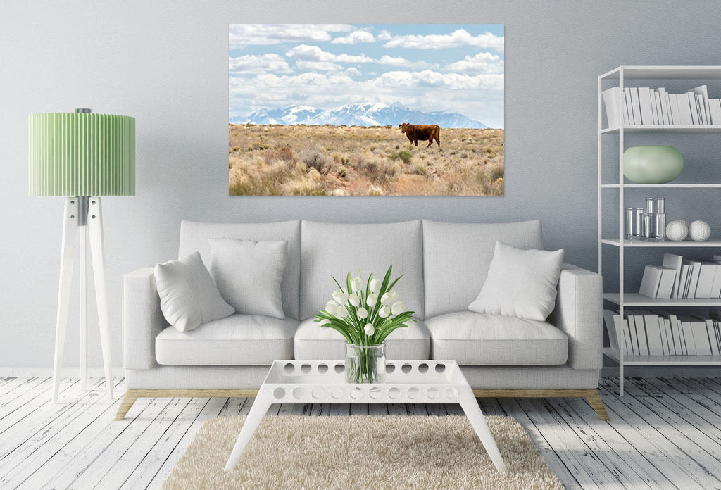 3D Prairie Cattle 7 Wall Stickers Vinyl Murals Wall Print Deco AJSTORE UK Lemon