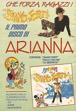 X1572 Siamo Forti il primo disco di Arianna - Pubblicità del 1991 - Vintage ad