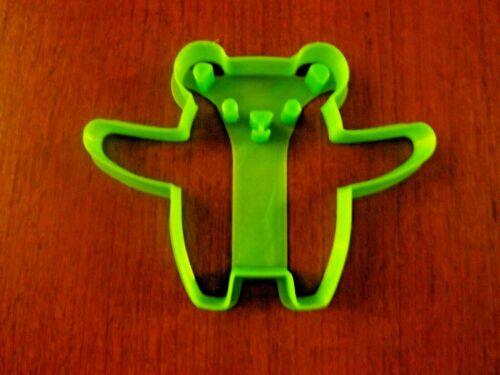 emporte pièce ours  imprimé 3D PLA environ 9,4 x 7,2 x1 cm