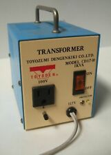 Toyozumi Dengenkiki Toyoden Transformer Cd117 10 1kva 100v