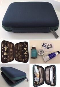 New-SEALED-China-Airline-PREMIUM-Business-Class-HARD-CASE-TRAVEL-Bag-Amenity-Kit