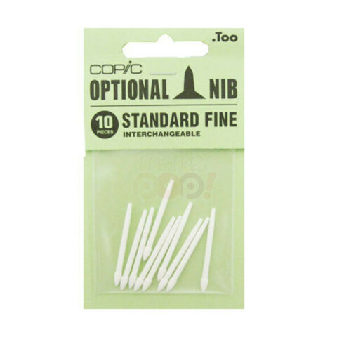 Pack of 10 Nibs Fine Copic
