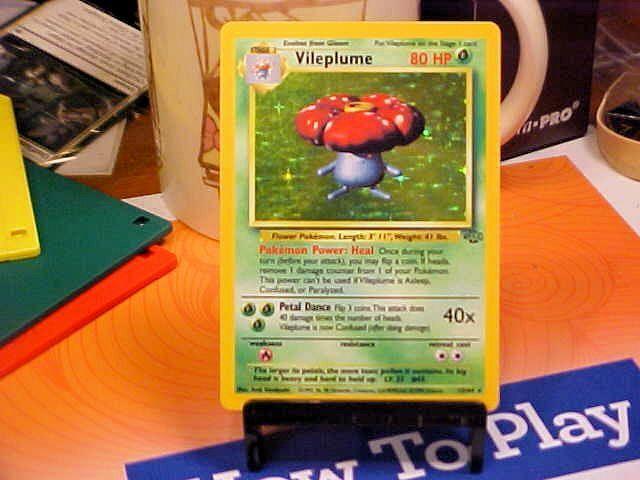 Vileplume 15/64 Holo Rare Jungle Pokemon Card