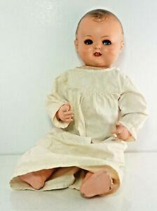 Charming-Baby-Doll-K-amp-W-Hartgummikopf-L-19-11-16in-K-amp-W-710-48-Germany-4A4