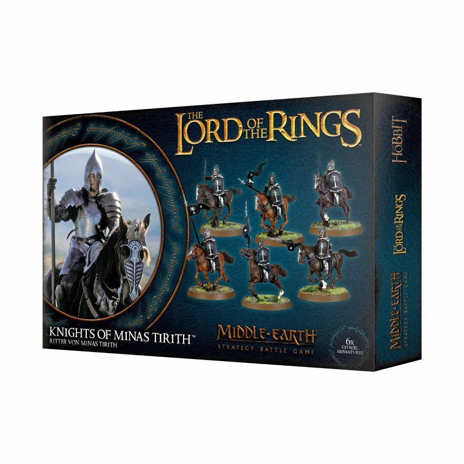Lord of the Rings Knight of Minas Tirith Games Workshop Hobbit Lord of the Rings