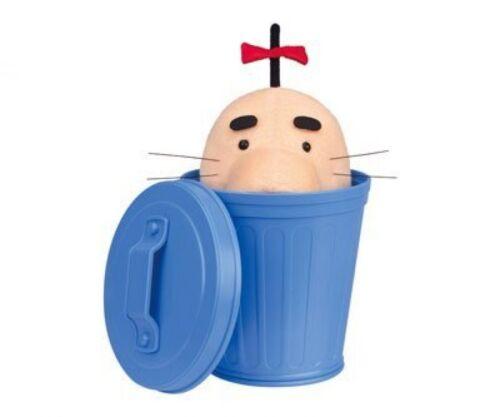 Saturn in Trash Can Plush Toy JAPAN Cute Banpresto Dosei san EarthBound Mr