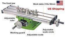 Us Compound Milling Machine Work Table Mini Lathe Cross Slide Bench 31090mm