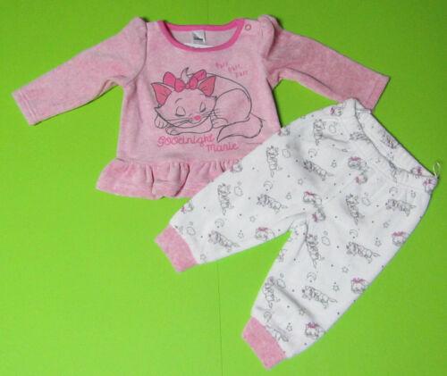 Disney Baby Aristocats Baby-Outfit 2 teilig  rosa-melange NEU