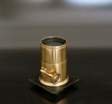 superFAST !! Brass Petzval Lens 220mm F3.5 graflex 4x5 5x7 (Aero ektar alt.)