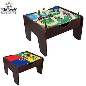 Charmant Children 2 In 1 Activity Table With Board Espresso Kidkraft 17577