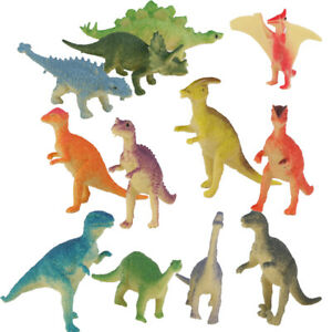 Party Bag //Pinata Fillers //Kids Toys //Favours 12 Small Plastic Dinosaur