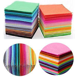 40pcs-Crafts-Non-Woven-Sewing-Dolls-Felt-Fabric-Bundle-Polyester-Cloth-15x15cm